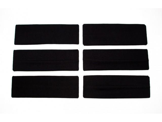 Κορδέλα Μαύρη 7 cm 1 τμχ RO