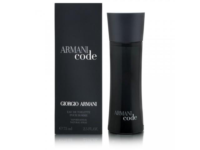 Black Code - Armani