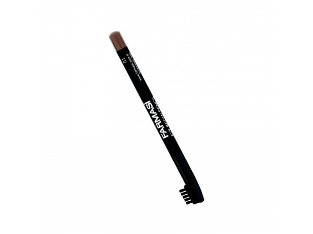 Eyebrow Pencil With Brush - 01 Brown Farmasi
