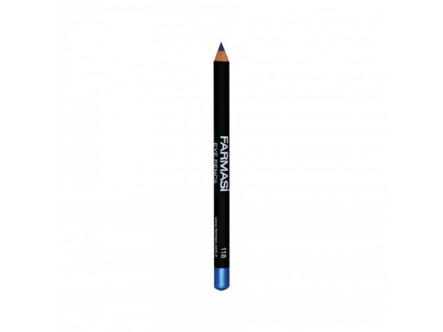 Eye Pencil - 118 Metalic Blue Farmasi