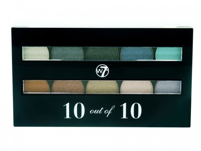 Perfect 10 Eyeshadow Palette Pastels W7