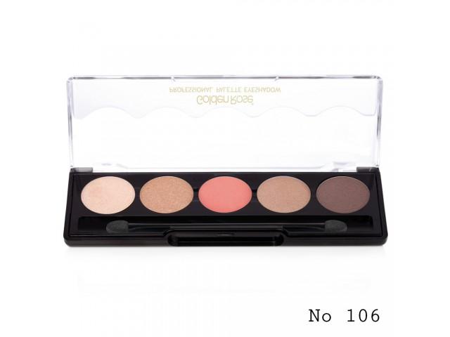 Professional Palette Golden Rose 106