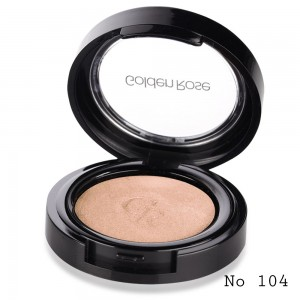 Silky Touch Pearl Eyeshadow 104 Golden Rose