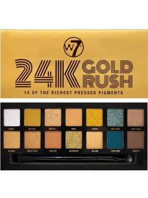 24K Gold Rush Eyeshadow Palette W7