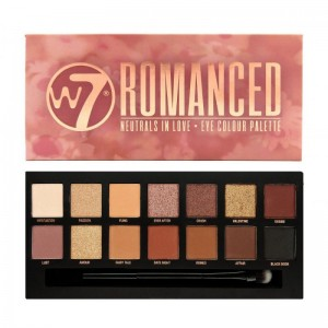 ROMANCED EYESHADOW PALETTE W7