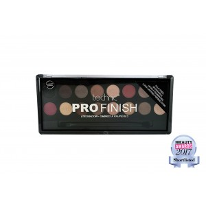 Pro Finish Eyeshadow Palette - Raspberry Edition TECHNIC