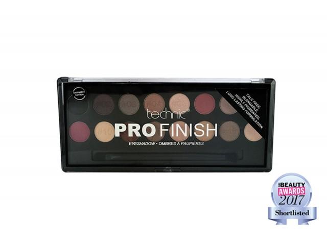 Pro Finish Eyeshadow Palette - Raspberry Edition TECHNIC