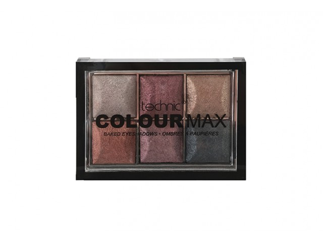 Colour Max Baked Eyeshadows Treasure Chest Technic