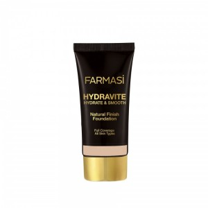 Hydravite & Smooth Foundation - 24 Neutral Farmasi