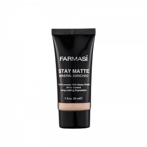 Stay Matte Foundation - 01 Light Ivory Farmasi