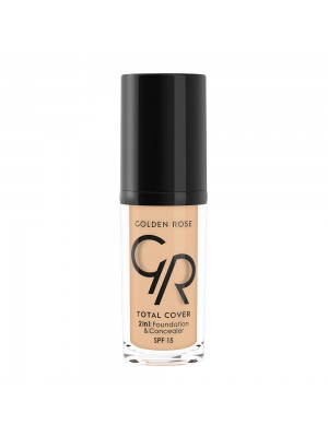TOTAL COVER 2in1 Foundation & Concealer 02 GOLDEN ROSE