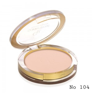 Pressed Powder Golden Rose 104