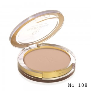 Pressed Powder Golden Rose 108