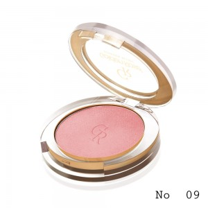 Powder Blush Golden Rose 09