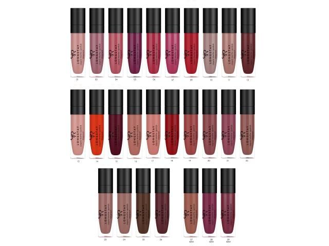 Longstay Liquid Matte Lipstick Kissproof 18 Golden Rose