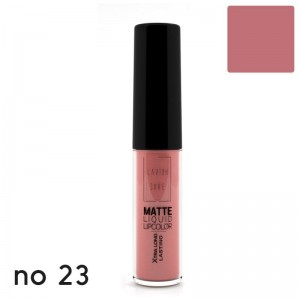 MATTE LIQUID LIPCOLOR - XTRA LONG LASTING 23 LAVISH CARE