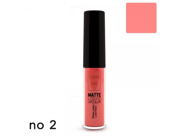 MATTE LIQUID LIPCOLOR - XTRA LONG LASTING 02 LAVISH CARE