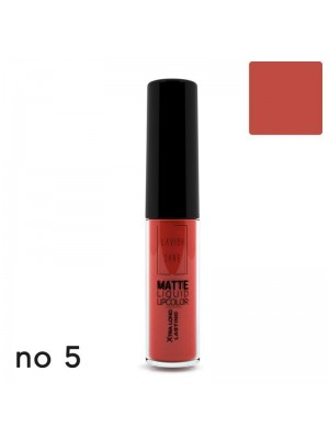 MATTE LIQUID LIPCOLOR - XTRA LONG LASTING 05 LAVISH CARE