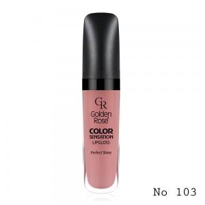 Color Sensation Lipgloss Golden Rose103