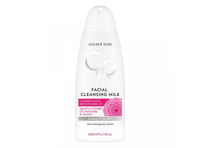 Facial Cleansing Milk - Γαλάκτωμα Καθαρισμού Προσώπου 200ml Golden Rose