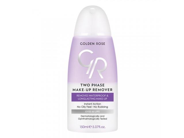 Two Phase Make-up Remover - Ντεμακιγιάζ Δύο Φάσεων  GOLDEN ROSE