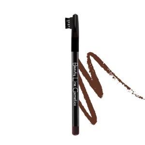 Μολύβι Φρυδιών BEAUTY LINE No 002 Καφέ Σκούρο
